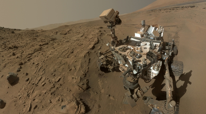 NASA's Curiosity Rover Takes Selfie to Mark First Year on Mars