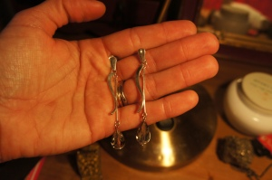 Made it recycling two Silver earrings