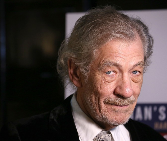 Watch Sir Ian McKellen Tell Students What Happens If They Don't Study